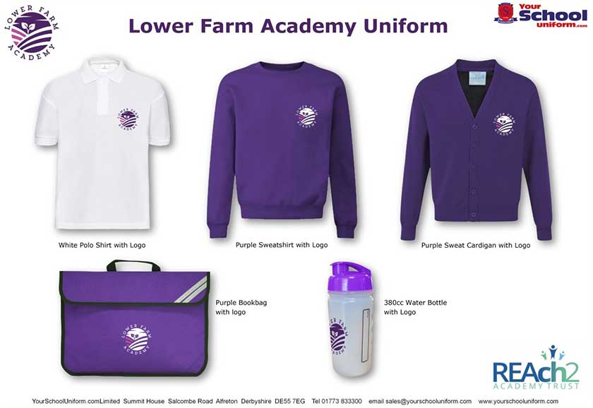 Lower Farm Academy School Uniform